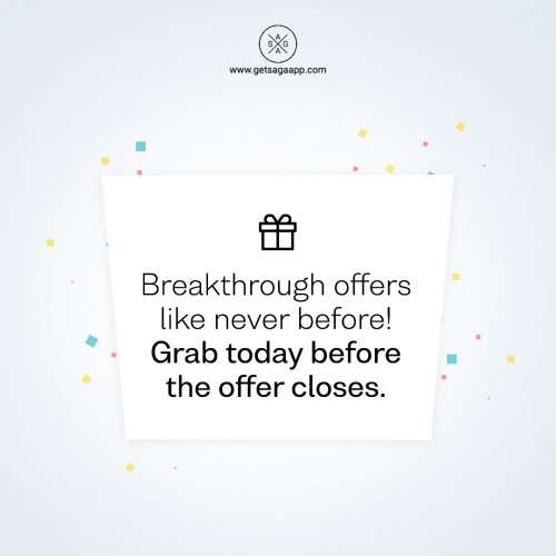 Breakthrough offers like never before! Grab today before the offer closes.